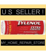 FREE S&H ! 1 POCKET SIZE TUBE OF 10 TYLENOL EXTRA STRENGTH ACETAMINOPHEN... - $7.49