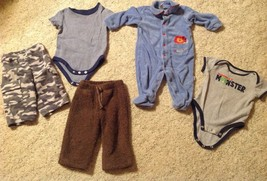 Baby Boys 18 piece Clothing Lot. Size 3 Months to 5T - $19.75
