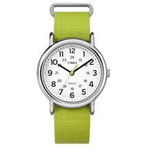 Timex Weekender Rip-Stop Water Resistant Analog Watch w/ Slip-Thru Strap - $60.90