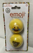 2 Emoji Lip Balm .09 oz Each - $7.25