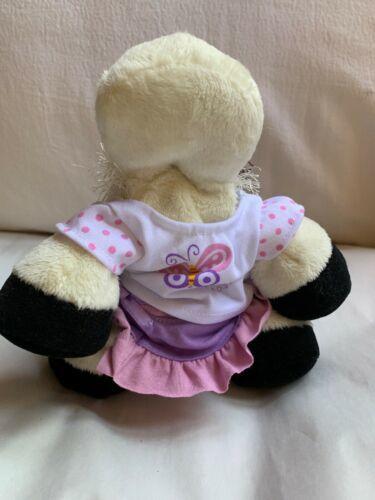 WEBKINZ COW - HM 003 - Used W No Tag Nice Clean Animal Toy Doll ganz image 5