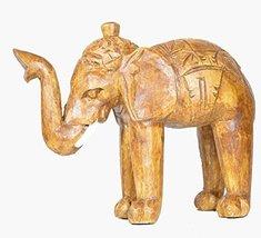 CLEARANCE Hand Carved Mahogany Wood Elephant Head African Asian Wall Scu... - $24.74
