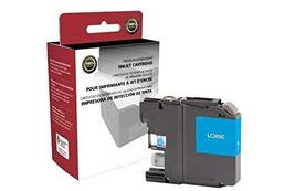 Inksters Remanufactured High Yield Cyan Ink Cartridge Replacement for Brother LC - $9.75