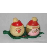 """NEAT 3"""" Vintage Santa And Mrs Claus Salt Pepper Shakers - $26.91"""