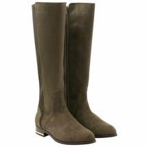 Kensie Ladies Black or Taupe Brown PU Tayson Knee High Tall Riding Boots NIB image 2
