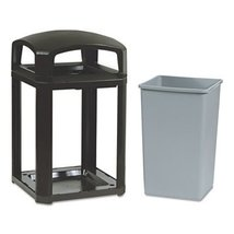 RCP3970SAB - Rubbermaid Landmark Series Classic Dome Top Container - $747.89