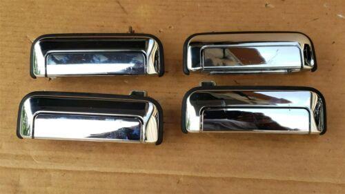 00-04 Mitsubishi Montero Pajero Sport JDM Chrome Door Handle Set
