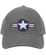 Olive Drab Vintage US Air Corp Logo Adjustable Hat - $12.99