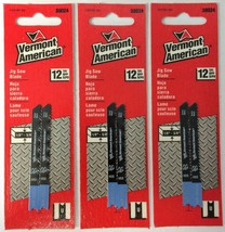 "Vermont American 30024 U Shank 2-3/4"" 12TPI HSS Metal Jig Saw Blade 3 Packs - $2.97"