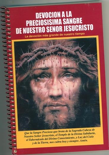 Devoci n a la precios sima sangre de nuestro senor jesucristo  10554 001