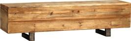 Bench DOVETAIL MADDOX Natural Wax Distress and Wood Tone - £1,208.06 GBP