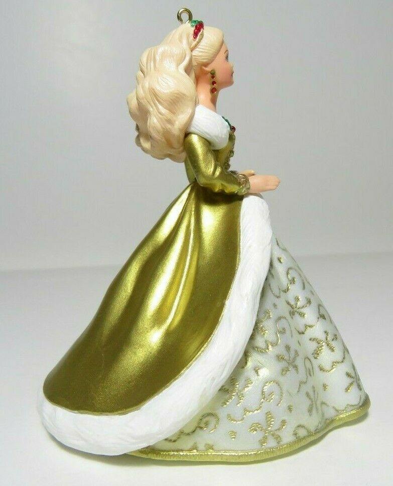 1994 Collectors Series Holiday Barbie Hallmark Keepsake Ornament Christmas #2