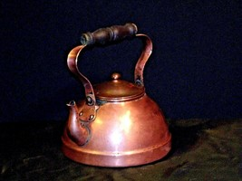 Brass Teapot with Lid AA19-1442 Vintage image 2