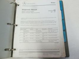 1980s 1990s Mercedes Gas & Diesel Engines Service Manual Supplement Updates - $97.00