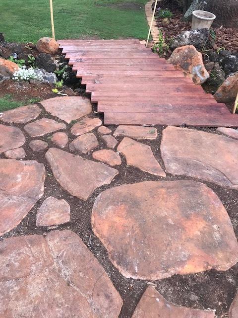 "Giant Fieldstone Stepping Stone Mold 24""x32""x3"" Make Concrete Wall Rock #GS24323"