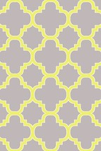 PREMIUM 3D Hand Carved Modern 3x5 4x6 Rug Contemporary 4518 Gray Grey Yellow - $75.00