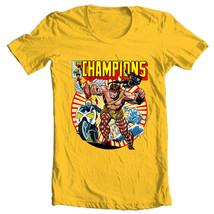The Champions T shirt classic Marvel Comics Hercules Iceman Angel graphic tee image 2