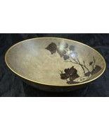 Mid Century Hand Painted Lyngby Porcelain Bowl Signed Frida Meyer - $37.99