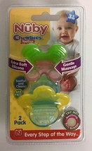 Nuby Chewbies Teether 2pack 3 Months + - $17.77