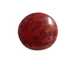 Vintage Redwood Wooden Brooch Pin Costume Jewelry RL185 - $22.76