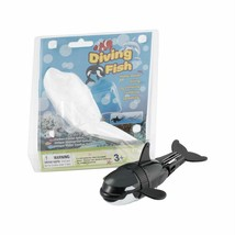 Diving Fish Toy Black Whale Batteries Powered Adjustable Durable Water R... - $18.80
