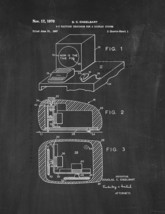 Computer Mouse Patent Print - Chalkboard - $7.95+