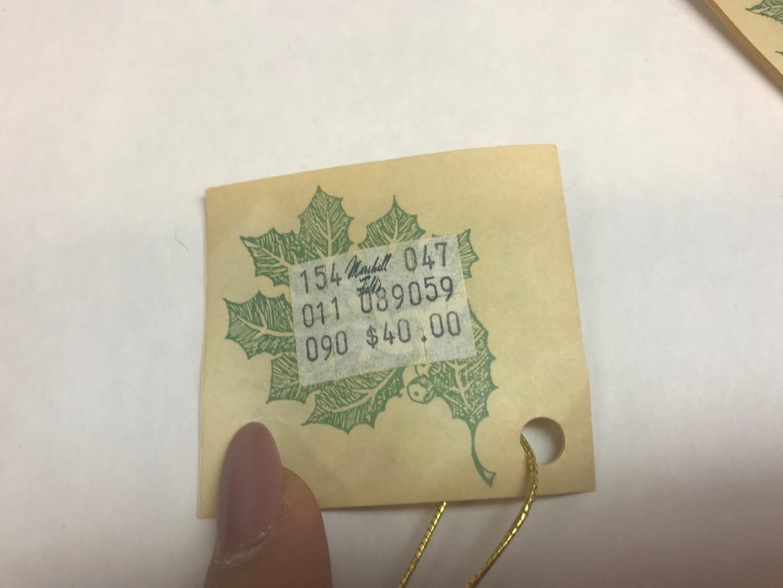 Vintage FOUR Christmas STOCKING Wool NEEDLEPOINT B.M Jabara MARSHALL FIELD