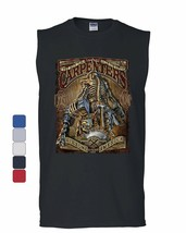 Carpenters Backbone of America Muscle Shirt Blue Collar Job Craftsman Sleeveless - $17.34+