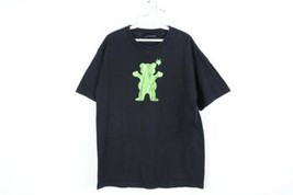 The Hundreds Mens Large Streetcar Grizzly Grip Tape Spell Out Short Slee... - $39.55