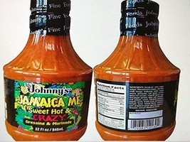 Johnny's Jamaica Me Sweet, Hot and Crazy Marinade Dressing (2 pack) - $34.64