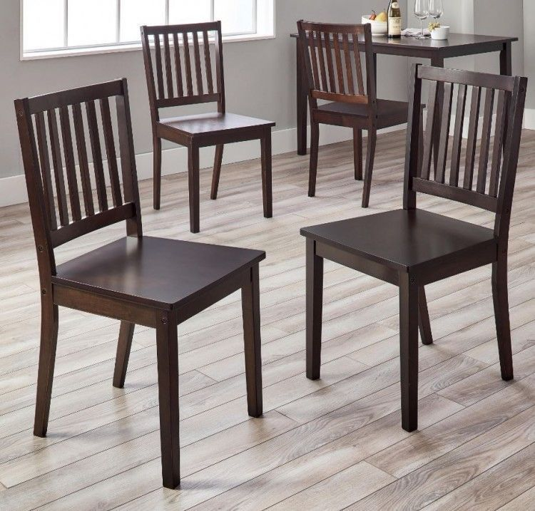 Kitchen Chairs Set Of 4 Country Farmhouse Dining Room