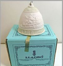 LLADRO 1988 CHRISTMAS BELL Number 5.525M - £27.00 GBP