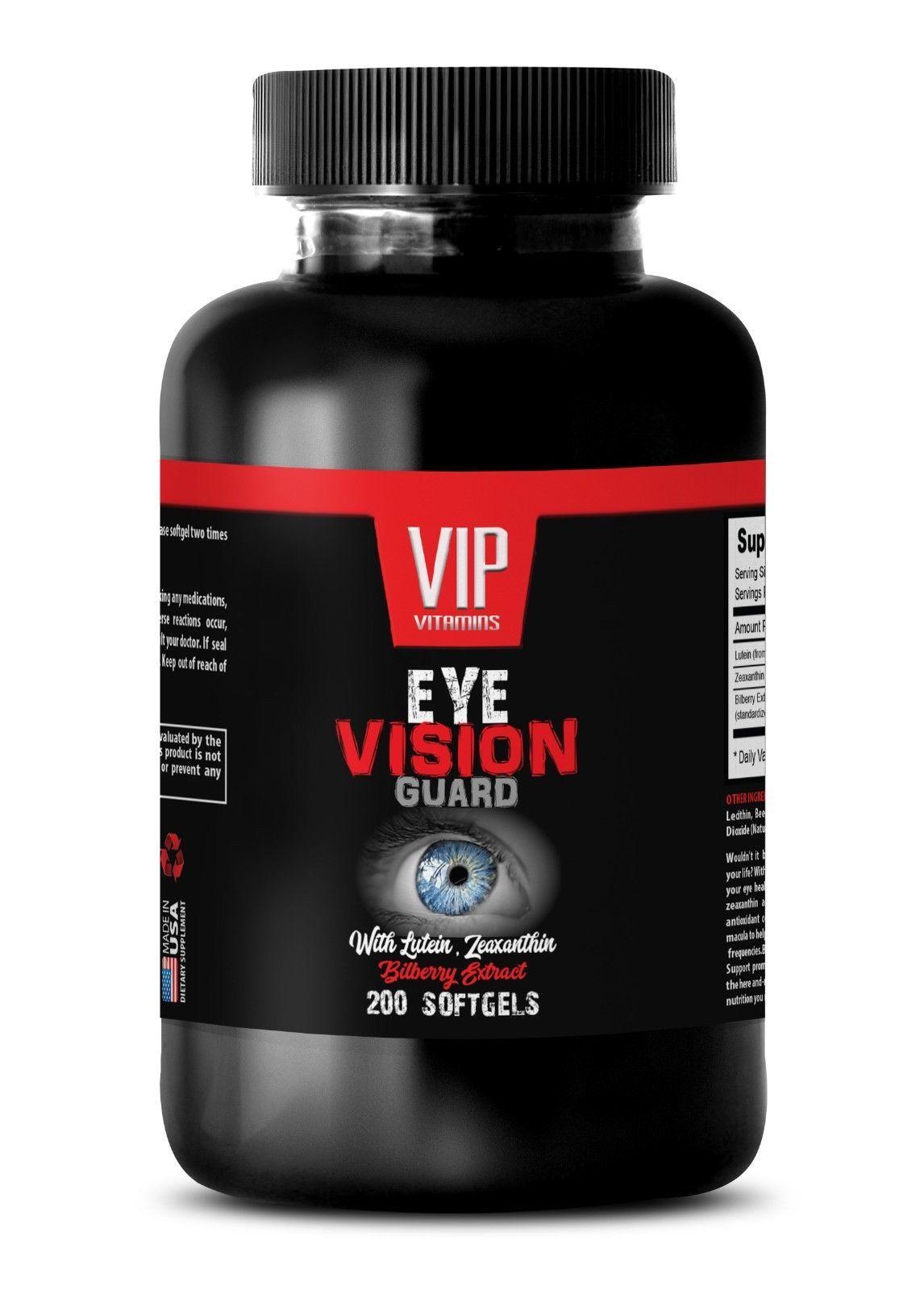 clear vision - EYE VISION GUARD - zeaxanthin - 1 Bottle (200 Softgels) - $23.33