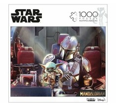 Star Wars Mandalorian THIS IS NOT A TOY 1000 PC Buffalo Games Jigsaw Puz... - $16.29