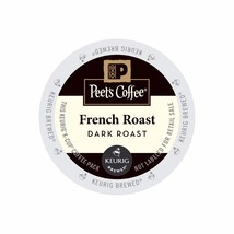 Peet's Coffee French Roast Coffee, 22 count K cups, FREE SHIPPING ! - $19.99