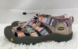 KEEN 1006567 Pink & Gray Waterproof Closed Toe Water Shoes Girl's US Size 4 - $23.36