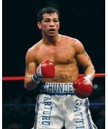 Arturo Gatti SFOL Vintage 11X14 Color Boxing Memorabilia Photo - $14.95