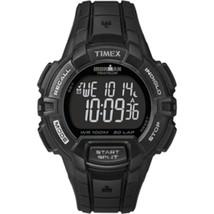 Timex IRONMAN® 30-Lap Rugged Full-Size Watch - Black - $55.84