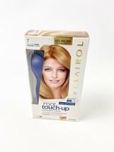 New Clairol Root Touch Up Kit 7 Dark Blonde Shades Gray Coverage Nib - $14.99