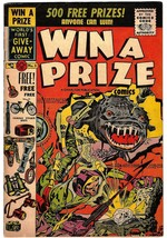 Win a Prize Comics Issue #2 VF- Jack Kirby Joe Simon Charlton April 1955 - $209.95