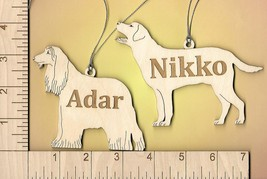 Dog Cat Animal Ornament Personalized all Breeds listed in my shop - $6.00