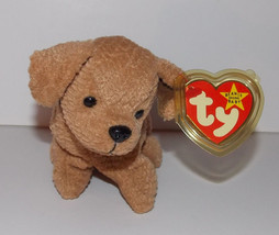 Ty Beanie Baby Tuffy Plush 7in Terrier Dog Stuffed Animal Retired with T... - $3.99
