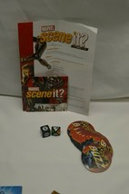Marvel Scene It? Deluxe Edition Replacement Parts Dvd, Dice, Buzz Cards - $7.43