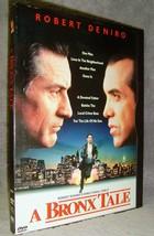 A Bronx Tale (DVD, 1998) Mint Disc•No Scratches!•USA•Out-of-Print•Robert... - $24.99