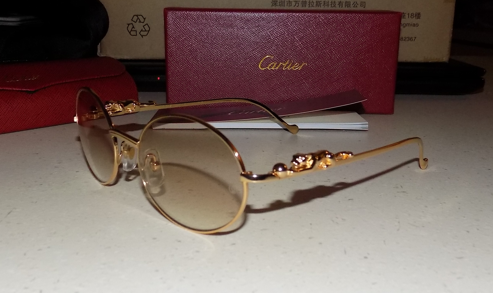 0268e5794777 Cartier Custom Panther Series 2012 Oval Lens and 19 similar items