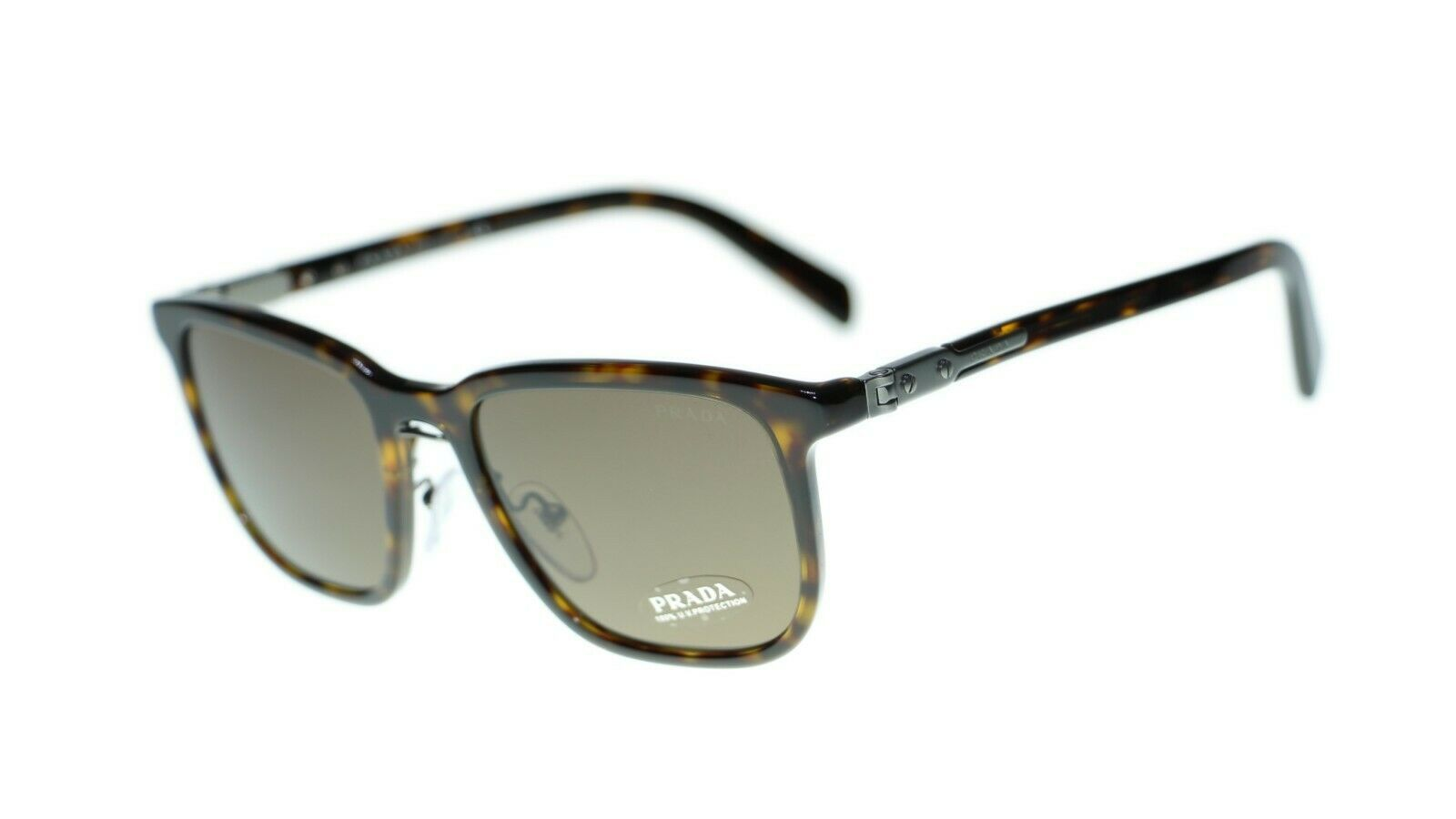 New Prada PR02TS Square Authentic Sunglasses