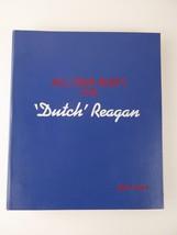 "Vintage President Ronald ""Dutch"" Reagan 1985 All Star Party Script Binde... - $445.45"