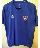 Adidas FC Dallas 96 MLS Adizero Soccer Pullover Shirt Women's Large - $15.80