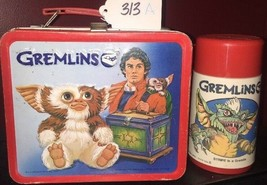 Gremlins Metal Lunchbox and Thermos Aladdin Rare 1984 Gizmo Lot 313 A - $121.54