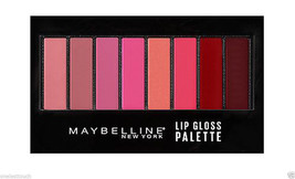 MAYBELLINE* Lip Studio LIPGLOSS PALETTE 8 Pan/Color IRRESISTIBLE SHADES ... - $14.39